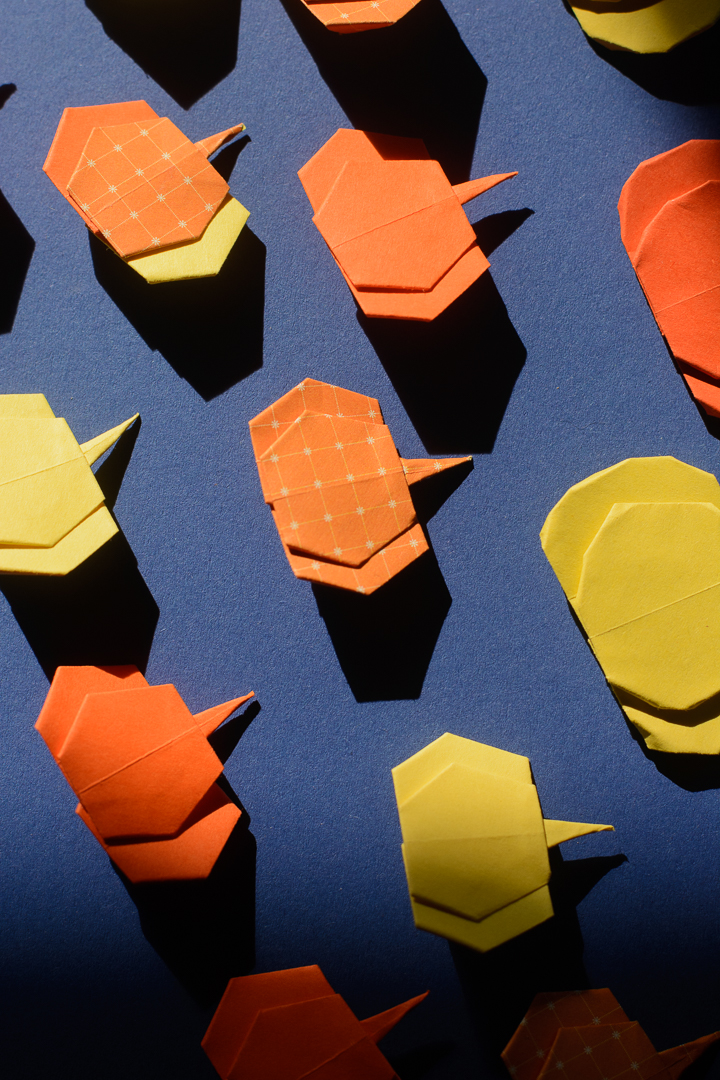 How To Make Easy Origami Pumpkins
