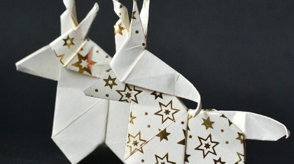 ORIGAMI UNICORN paper kawaii feature image