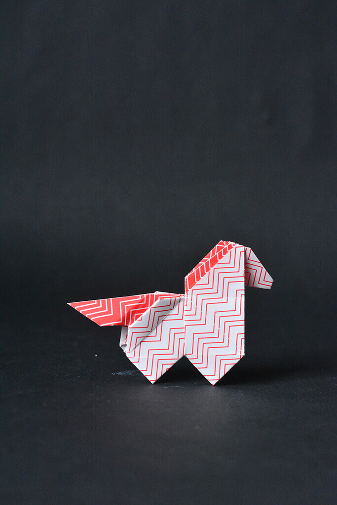 Origami Unicorn Bookmark Tutorial - How to Make A Paper Unicorn ... | 1024x683