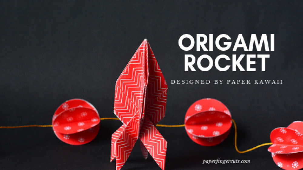 How to make origami rocket | 563x1000