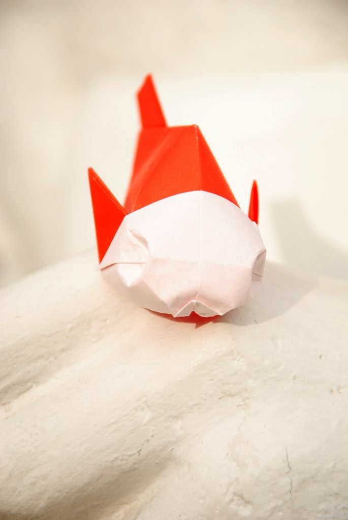 Origami Fish: the Easiest Way for Kids | 1024x685