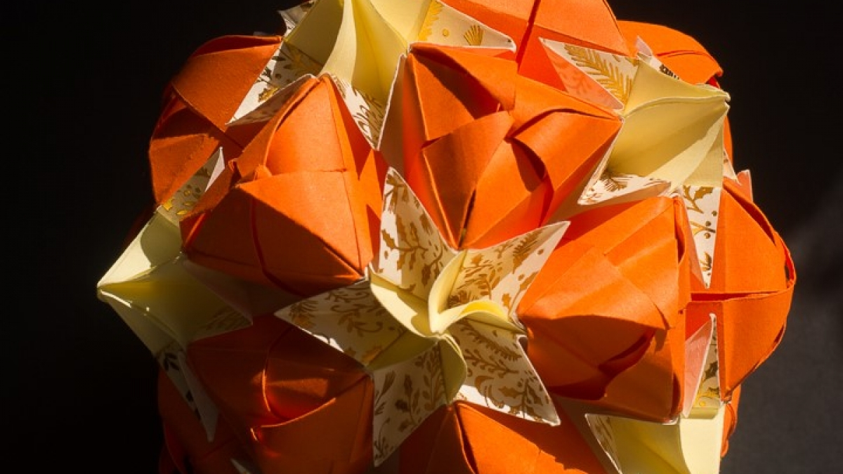 Sweet Spring Kusudama Designed By Natalia Romanenko (1) - Copy