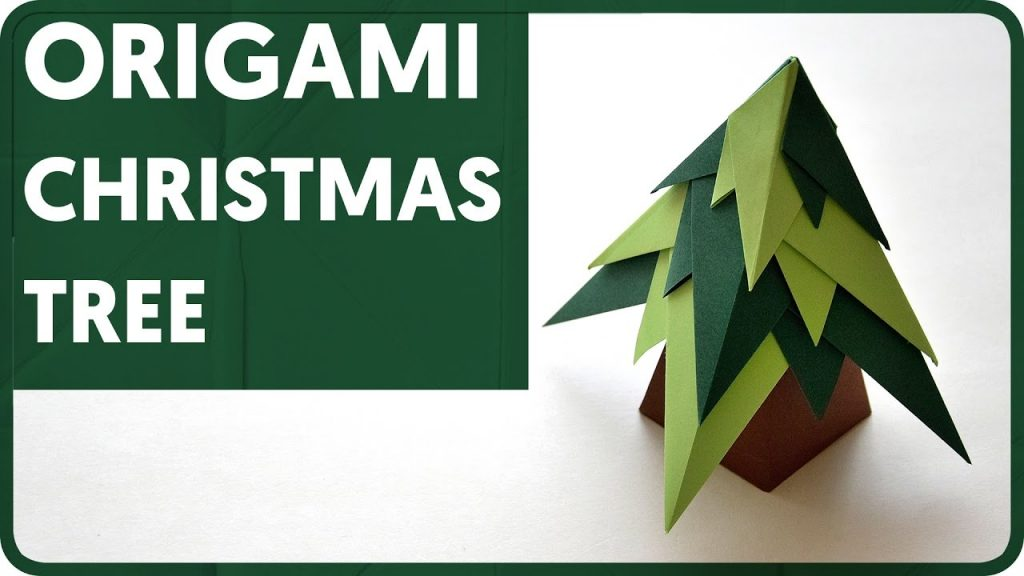25 Easy Origami Christmas Tree List To Make Your Home Look Amazing