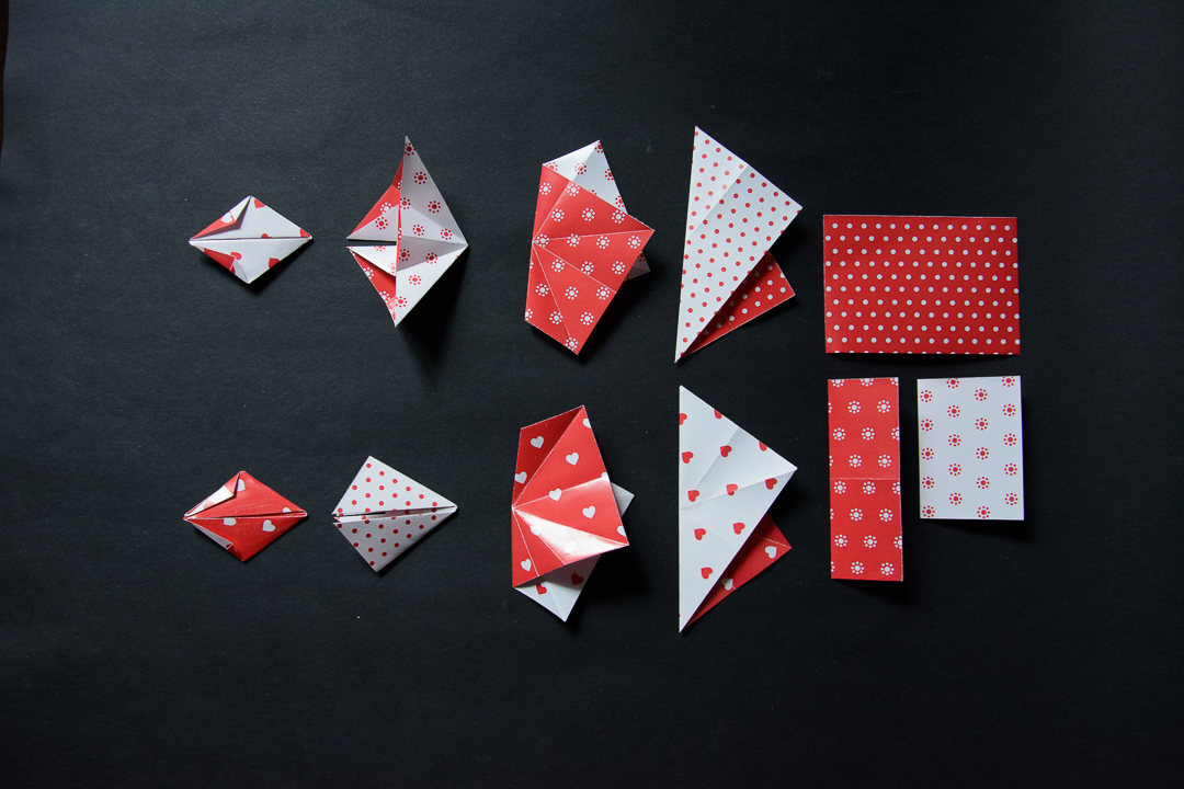 How to fold Kusudama UVWXYZ designed by Francesco Mancini