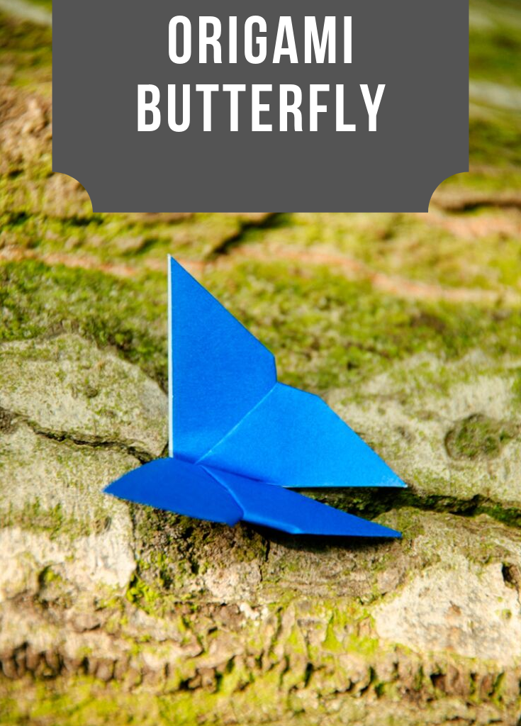 Easy Origami Butterfly Bookmark Corner - How to make an Origami ... | 1024x735