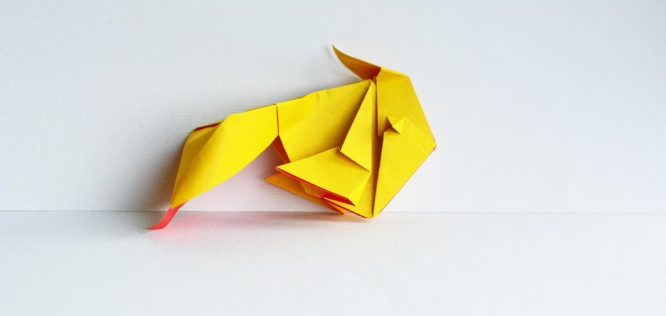 Day 29 of 365 Goldfish Designed by Katrin Shumakov and folded by me⠀
