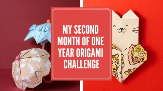My second Month of One Year Origami Challenge
