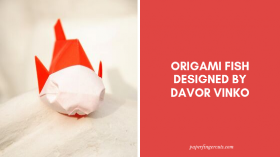 Origami Fish Designed by Davor Vinko