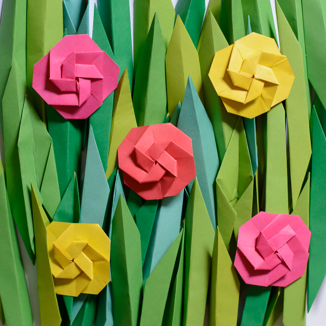 origami flowers (1)