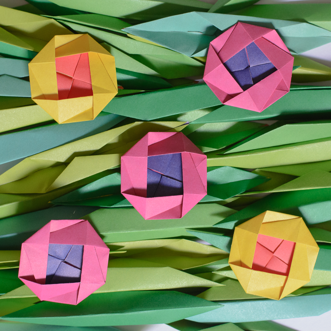 origami flowers (2)