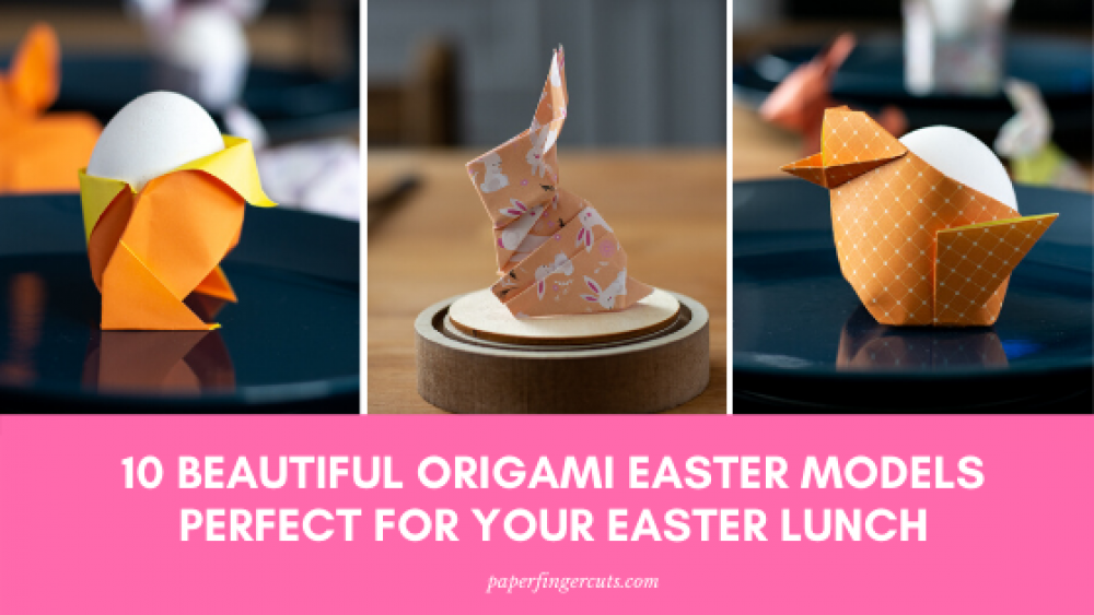 Easy Easter Origami for Kids - Red Ted Art - Make crafting with ... | 563x1000
