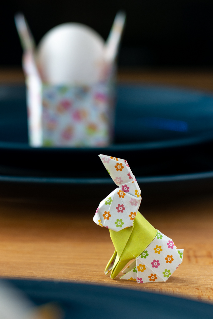 Make an Origami Rabbit -Perfect as an Easter Egg Holder | 1024x683