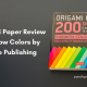 origami paper review
