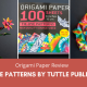 Origami Paper Review – Tie-Dye Patterns by Tuttle Publishing (2)