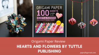 hearts and flowers patterns origami paper (1)